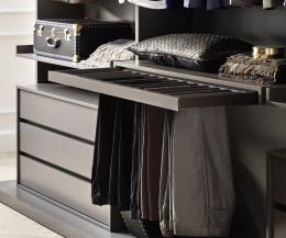Exklusiver Novamobili Begehbarer Design Kleiderschrank