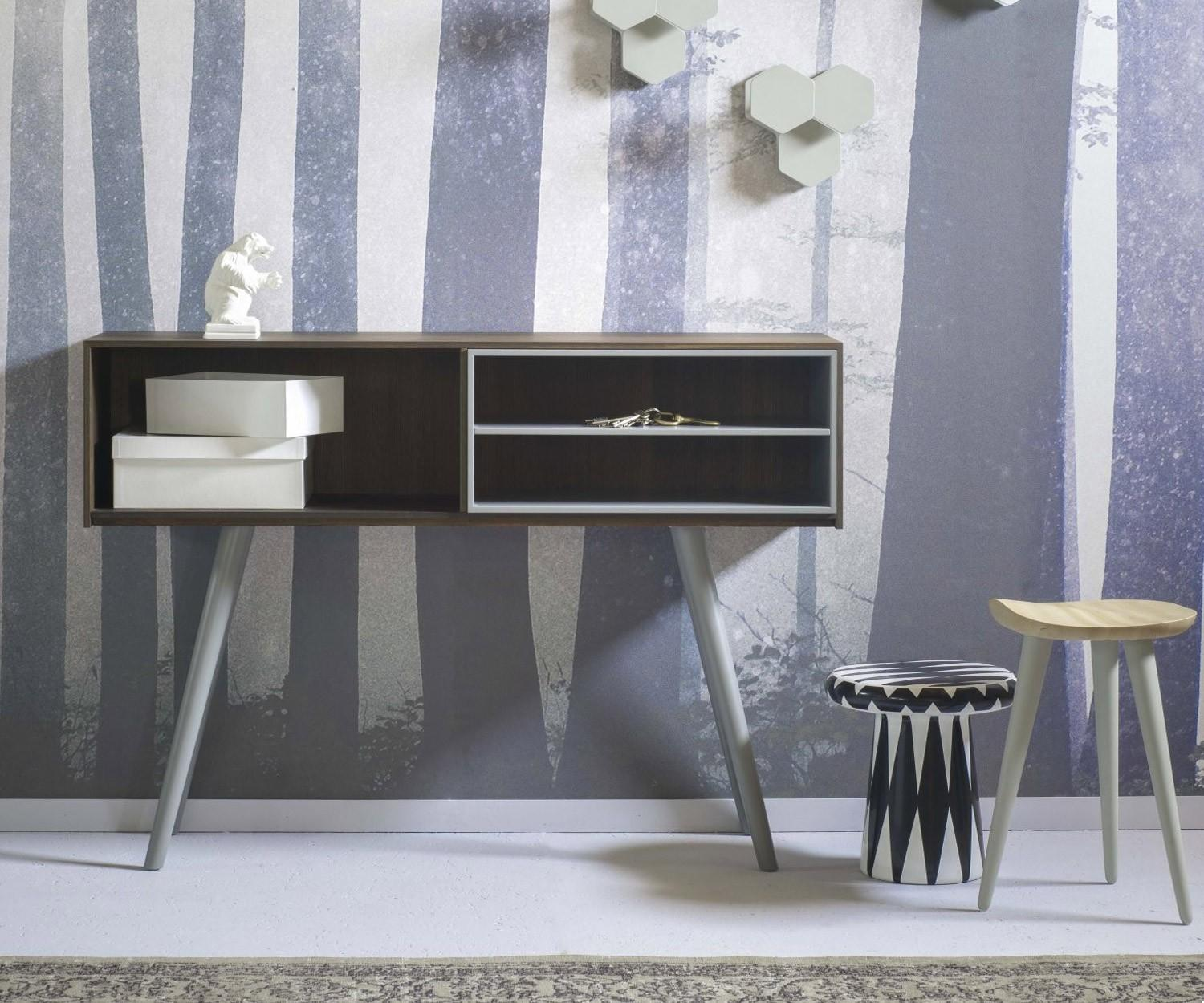 miniforms schmale konsole olivia f r den flur. Black Bedroom Furniture Sets. Home Design Ideas