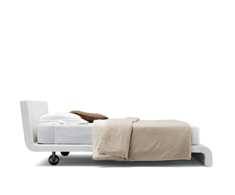 Novamobili Polsterbett Slide in touch 01 weiß