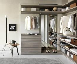 Moderne Livitalia individuelle Garderobe für Design Ankleidezimmer