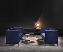 Lounge Sofa mit hoher Lehne