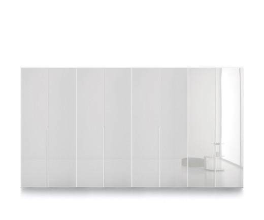 Hochwertiger Novamobili Design Kleiderschrank Crystal mit Flügeltüren