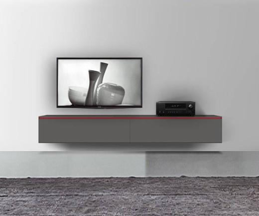 Hängende Lowboards 120 300 Cm Breite In 30 Farben
