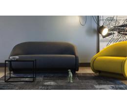 Prostoria Design Sessel & Designer Sofa Up Lift zusammen im Wohnzimmer