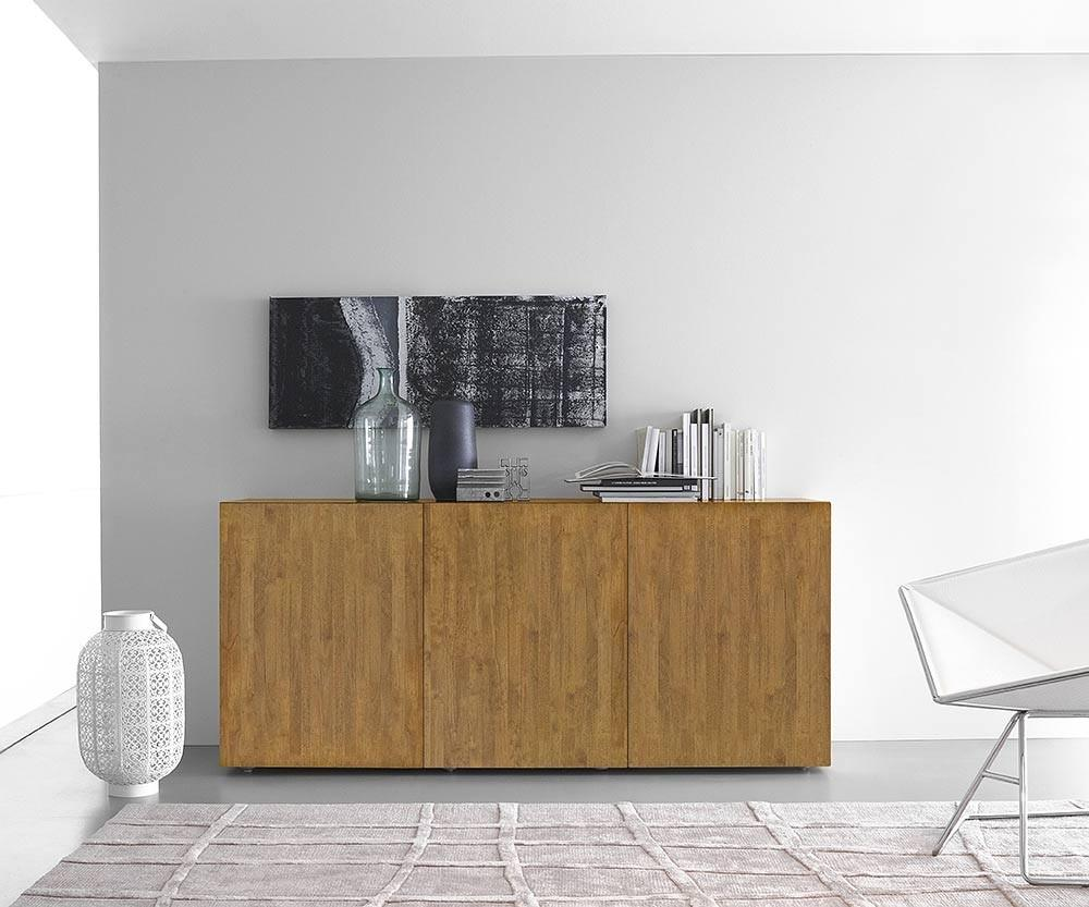 FGF Mobili Box Sideboards Parawood weiss