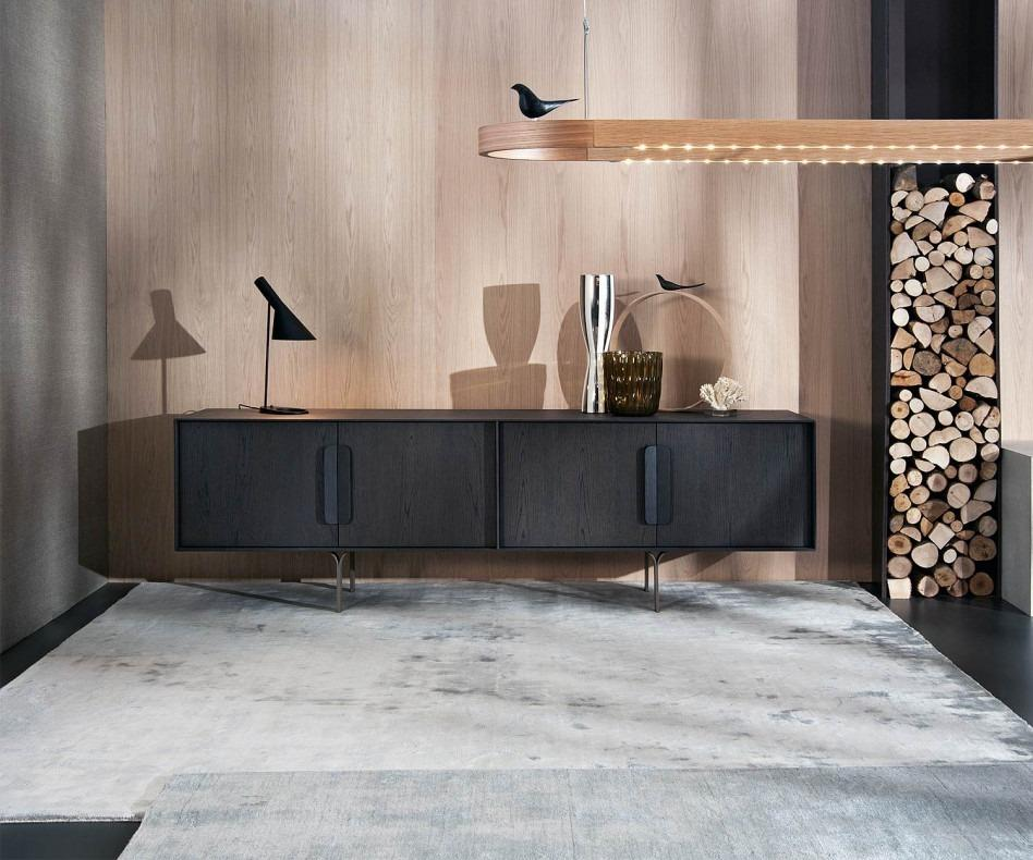 al2 mobius 003 sideboard aus eukalyptus holz. Black Bedroom Furniture Sets. Home Design Ideas