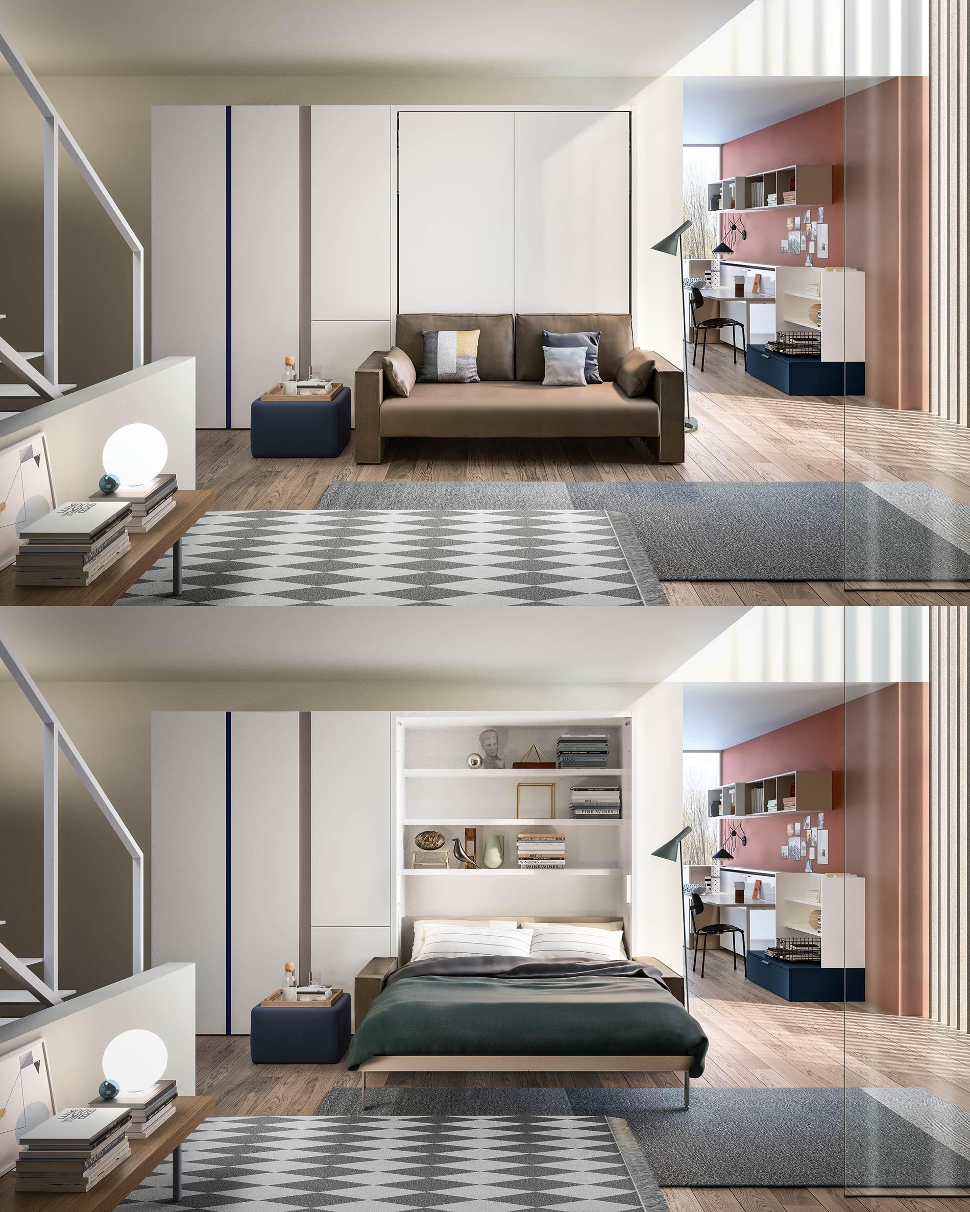 Schrankbett Mit Liegefläche 160x200 Cm