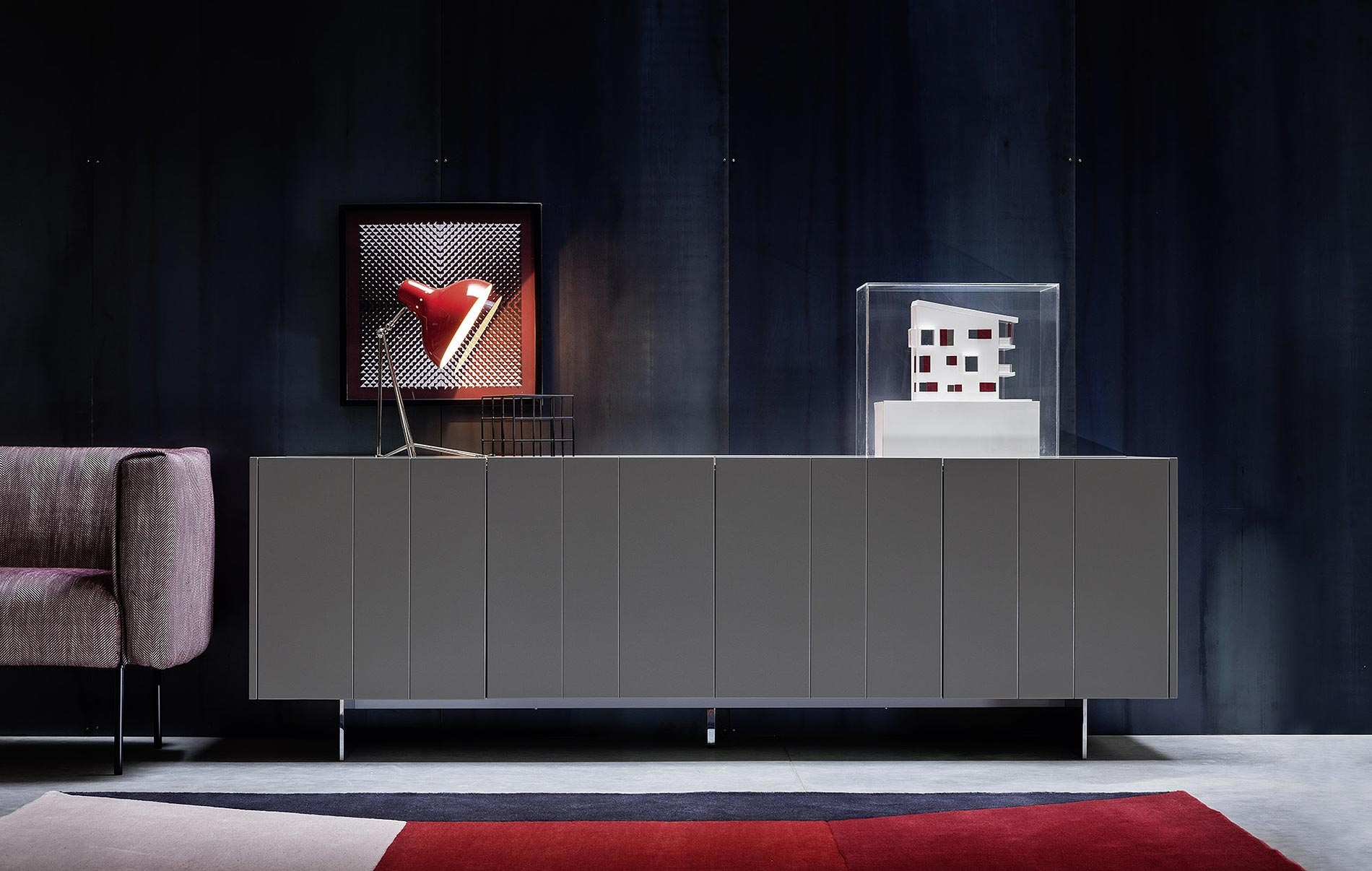 Graues Sideboard graues sideboard ohne griffe