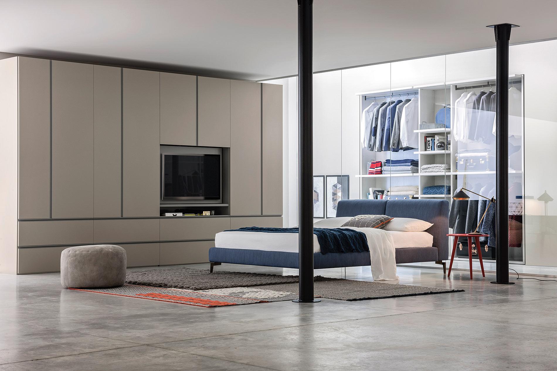 100 Schlafzimmerschrank Tv Ideen Wohnwand Ikea Hemnes