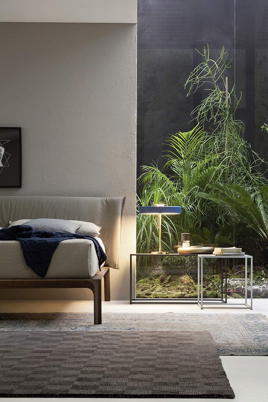 Natur Glasswand Schlafzimmer