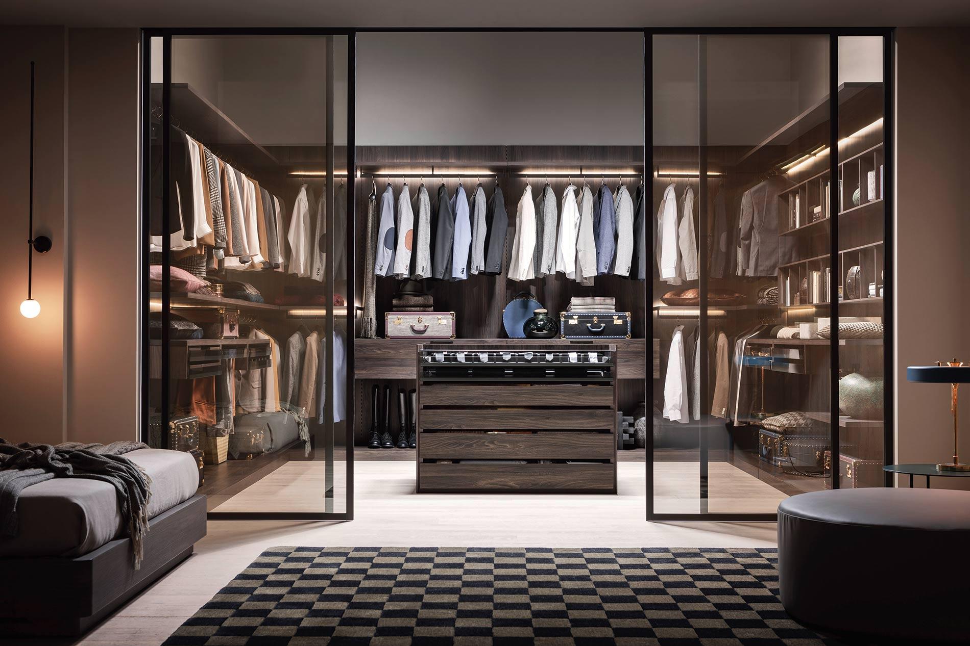 Ankleidezimmer Luxus