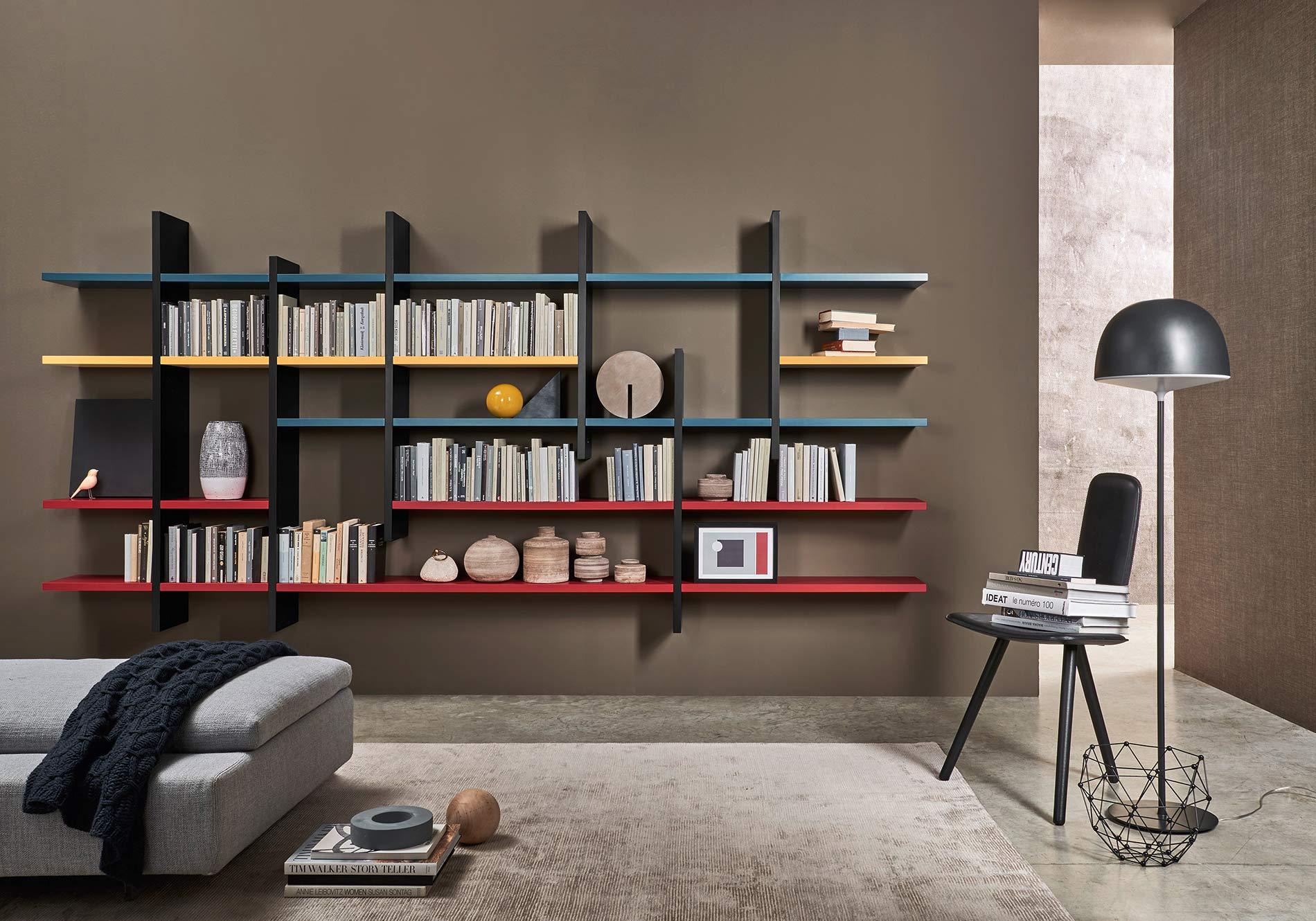 Bücherregal Wand Fkh