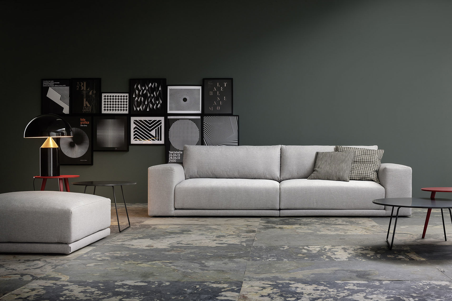 Breites sofa  breites Lounge Design Sofa