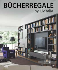 Livitalia Bücherregale 2018