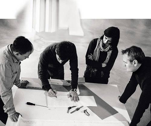 Livarea Team bei der Planung einer 780m² Terrasse