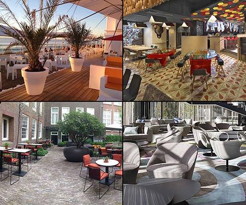 Livarea Großprojekte - Restaurant Terrasse - Lobby - Bar - Lounge - Outdoor