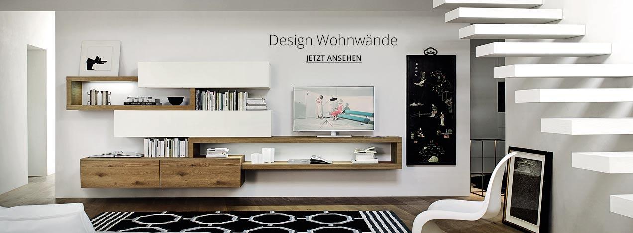 Design Wohnwand