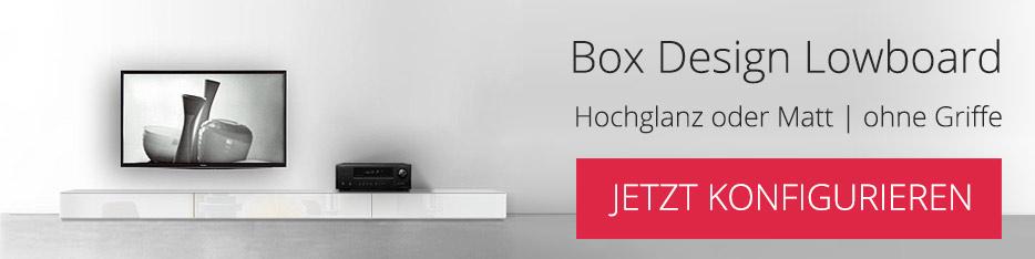 Lowboard Konfigurator Box