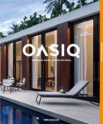 OASIQ Designer Gartenmöbel Katalog 2018