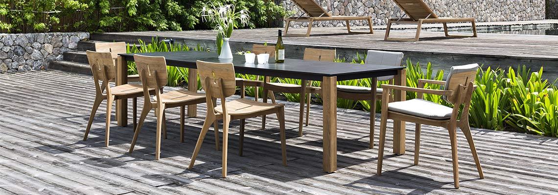 Polyrattan Gartenmobel Discount :  Teak Alu  Design Gartenmöbel ® aus Teak Edelstahl oder Aluminium