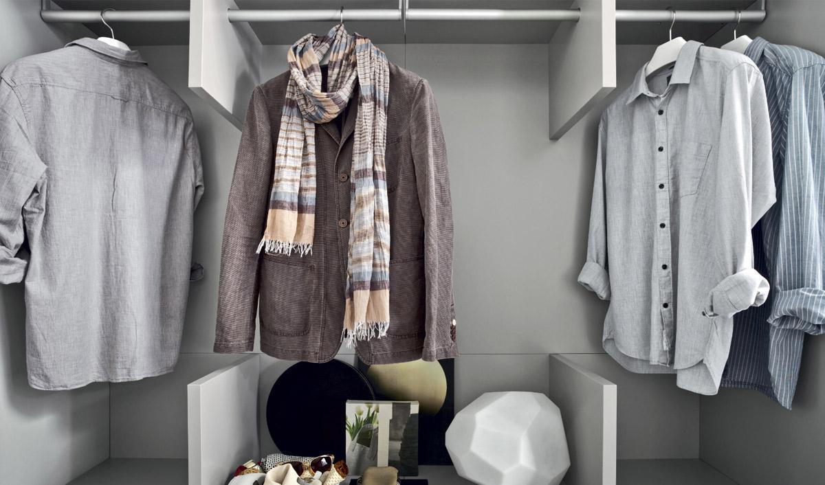 Mehr Platz im Kleiderschrank – So sorgen Sie für Ordnung -