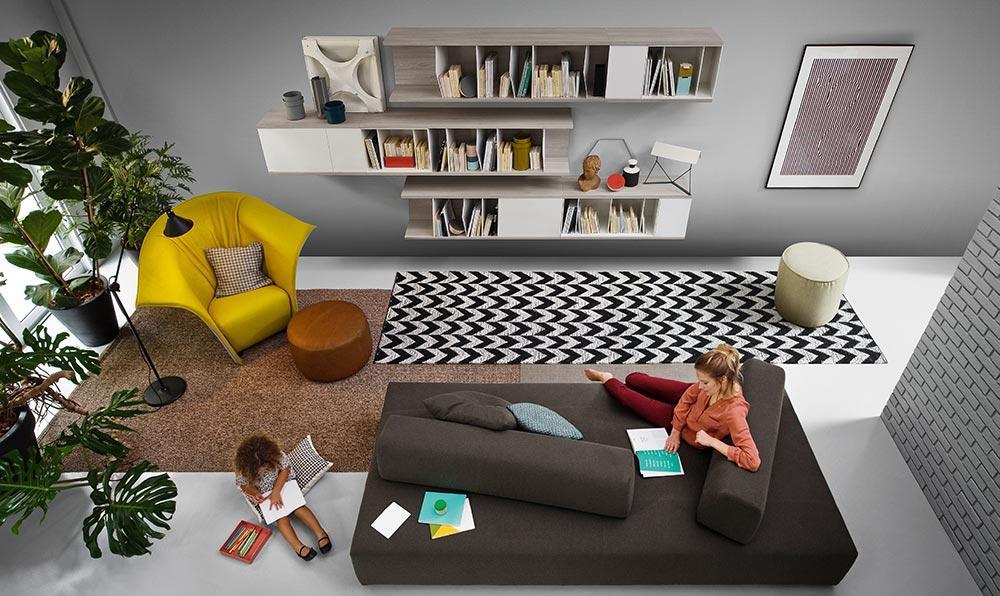 design regal trends 2015 aus italien. Black Bedroom Furniture Sets. Home Design Ideas
