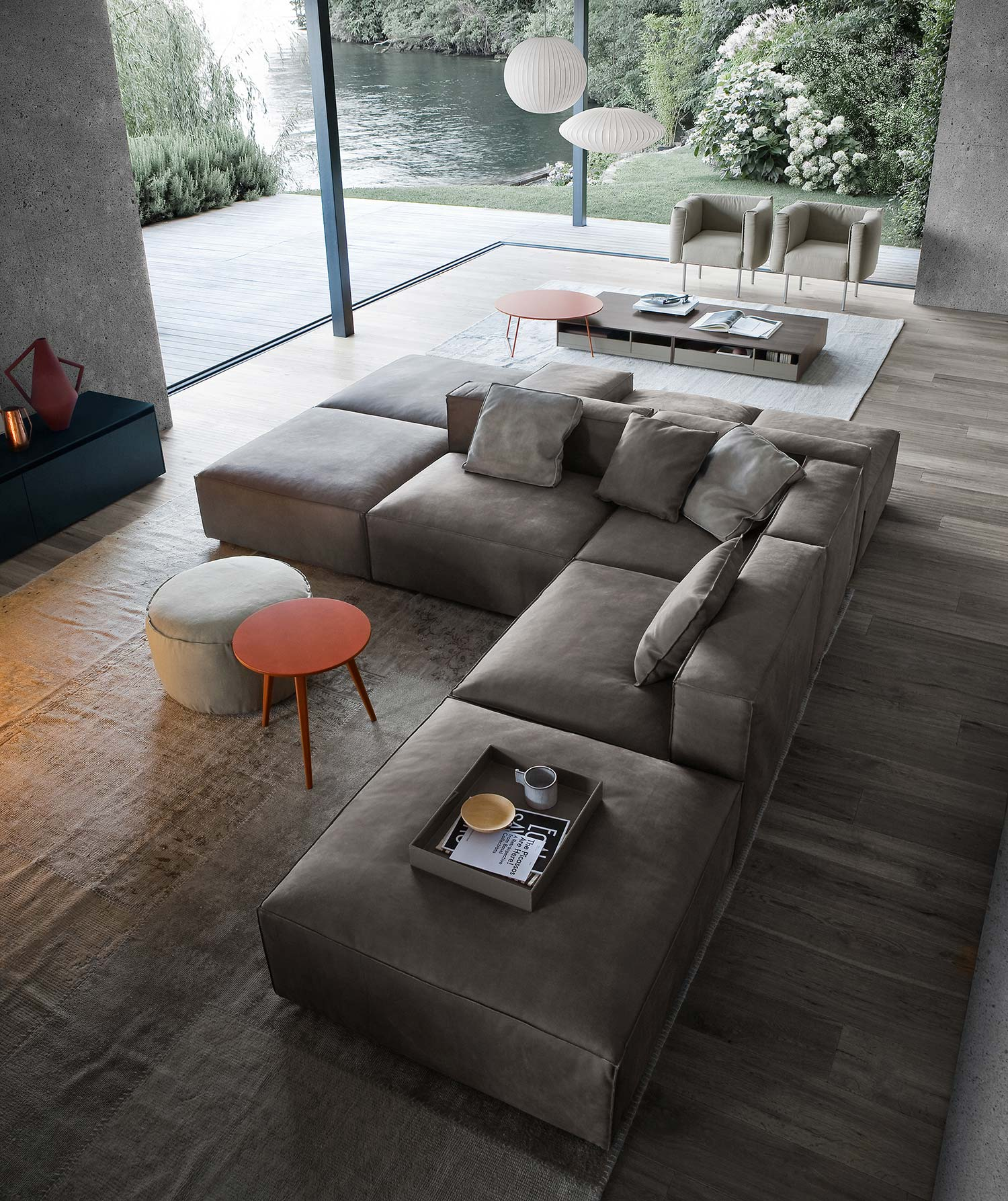 So platzieren sie ihr sofa richtig im wohnzimmer for Wohnzimmer designer
