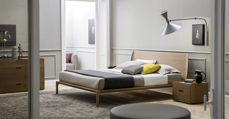 Schlafzimmerm bel aus holz nat rliche materialien liegen - Novamobili letti ...