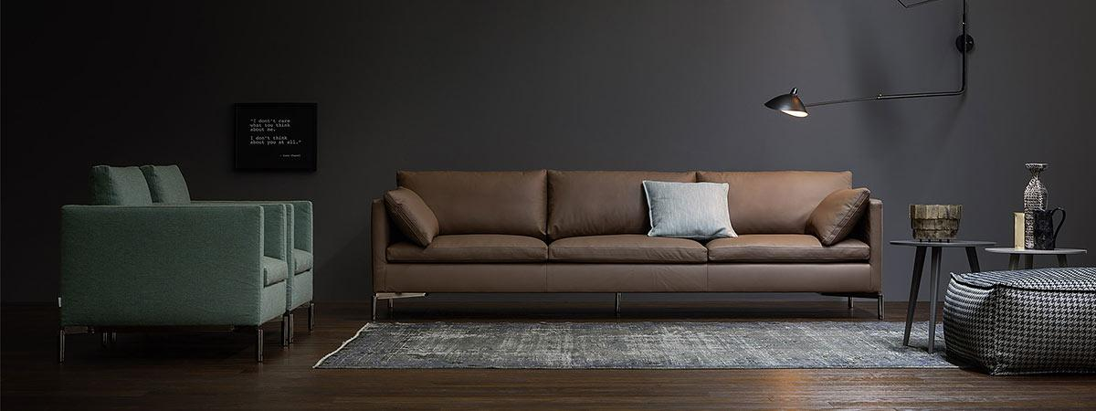 so platzieren sie ihr sofa richtig im wohnzimmer. Black Bedroom Furniture Sets. Home Design Ideas