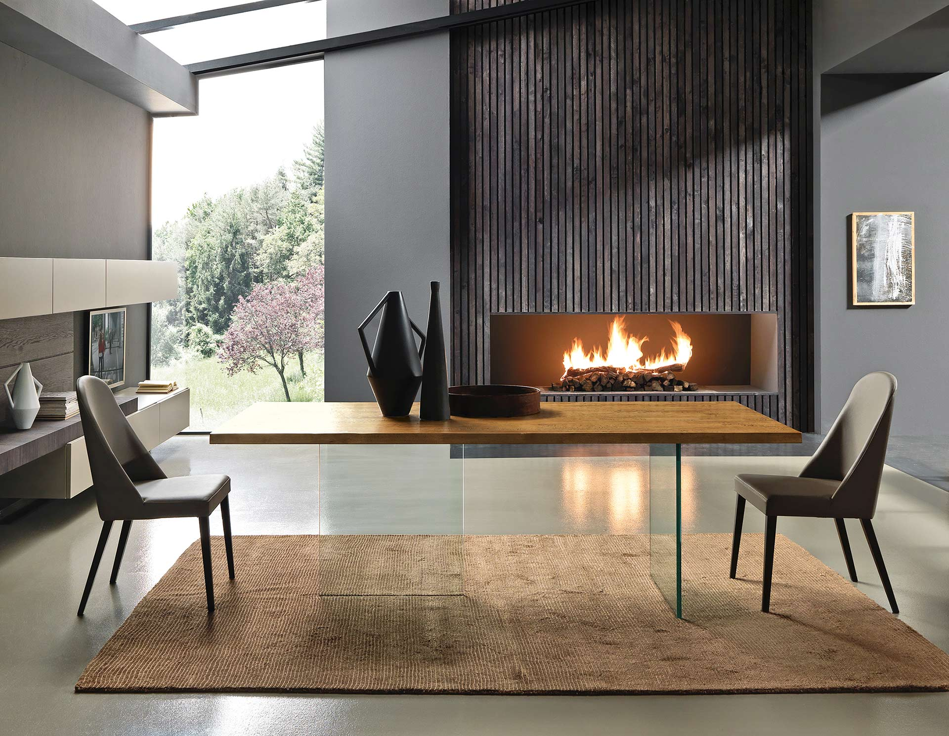 Trendstark und nachhaltig design massivholzm bel for Tv tisch design