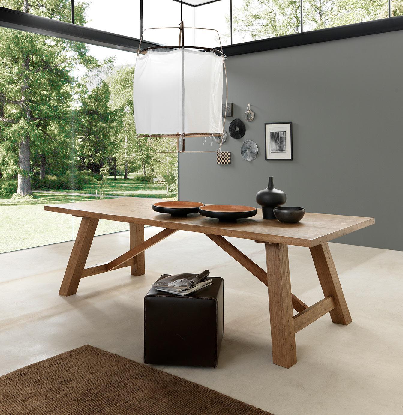 Trendstark und nachhaltig design massivholzm bel for Design massivholztisch