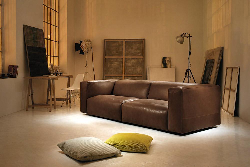 Das Prostoria Cloud Leder Sofa ist ein Traum.