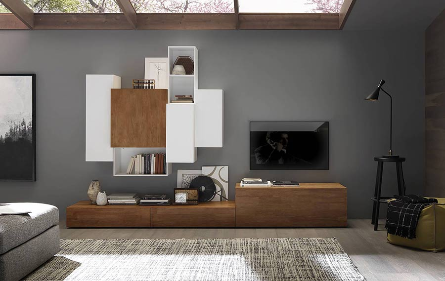 TV-Möbel aus Massivholz