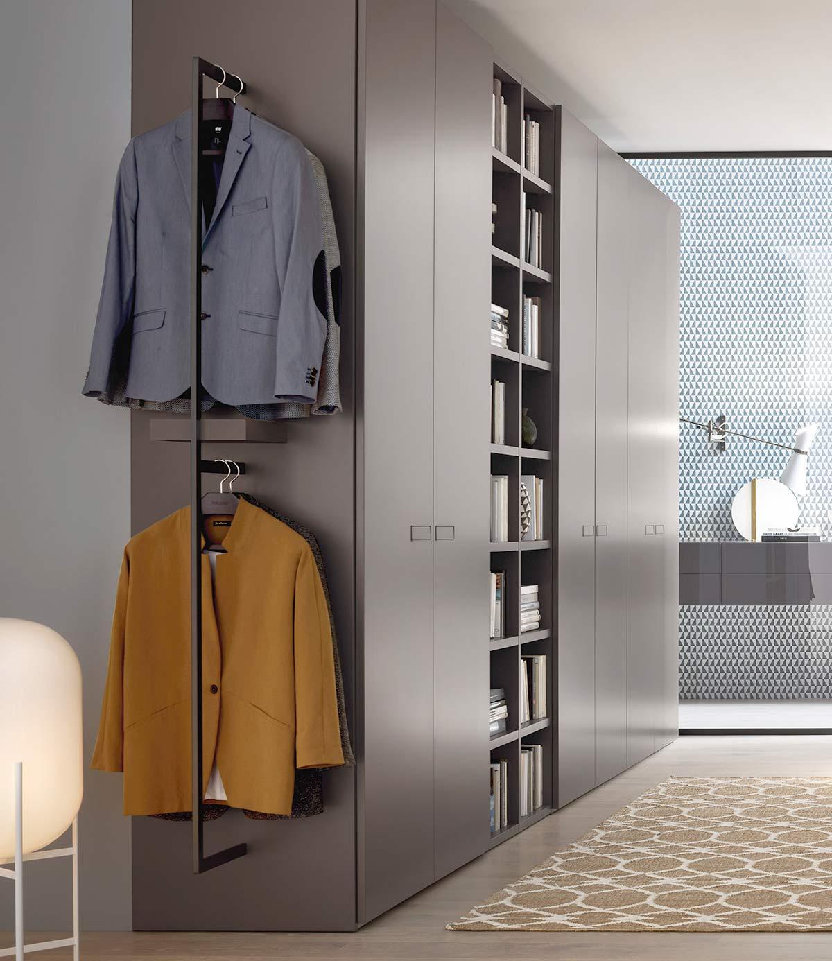 kleine Garderobe mit viel Stauraum