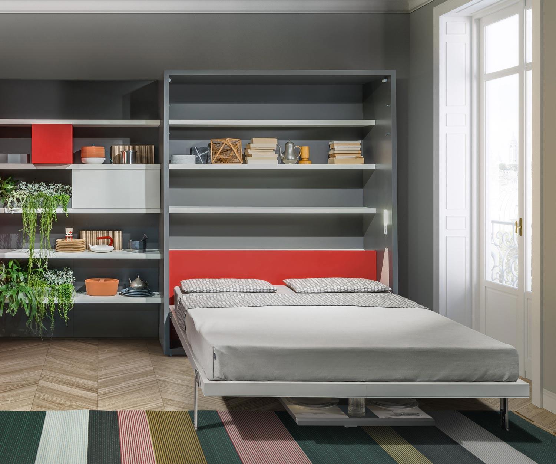 Das Clei Penelope 2 Schrankbett mit Esstisch ist ideal für Einzimmerappartments
