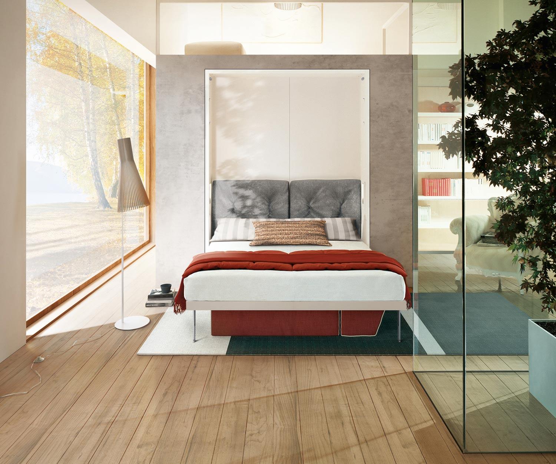 Das Clei Penelope 2 ist ein Design Schrankbett zum Ausklappen