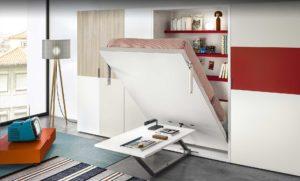 Platzsparende Schrankbetten lösen Raumprobleme
